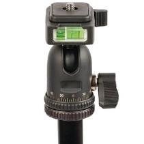 Professioneel Camera/Video Statief Balhoofd 137 cm Zwart