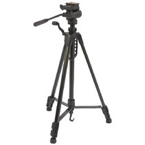 Camera/Video Statief Pan & Tilt 148 cm Zwart
