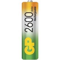 Oplaadbare NiMH Batterij AA 1.2 V 2600 mAh 4-Blister