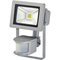 LED Floodlight met Sensor 10 W 700 lm Grijs