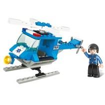 Bouwstenen Town Serie Politiehelikopter