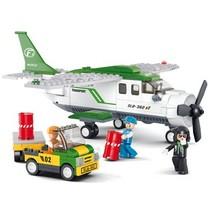 Bouwstenen Aviation Serie Vrachtvliegtuig