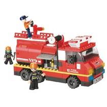 Bouwstenen Fire Serie Grote Brandweerwagen