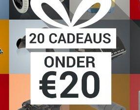 20 Cadeaus onder € 20,00