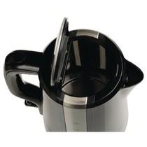 Elektrische Waterkoker 2200 W 1.7 l Zwart/Zilver