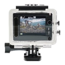 Full HD Action Cam 1080p Wi-Fi / GPS Zwart