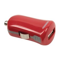Autolader 1-Uitgang 2.1 A USB Rood