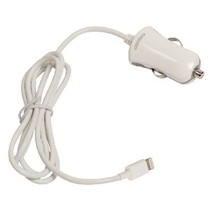 Autolader 1-Uitgang 2.4 A Apple Lightning Wit