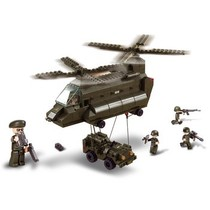 Bouwstenen Army Serie Transporthelikopter