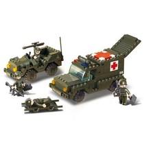 Bouwstenen Army Serie Ambulance