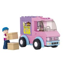 Bouwstenen Girls Dream Serie Bestelwagen