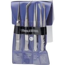 Set of precision tweezers