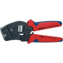 Crimping pliers for front insertion End-sleeves for wires 0.08...10 mm²
