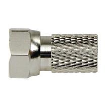F-Connector 2.5 mm Male Metaal Zilver/Zilver