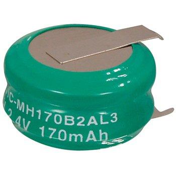 Oplaadbare NiMH Batterij Pack 2.4 V 170 mAh 1-Pack