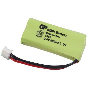 Oplaadbare NiMH Batterij Pack 2.4 V 600 mAh 1-Blister