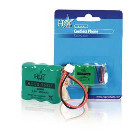 Oplaadbare NiMH Batterij Pack 3.6 V 280 mAh 1-Blister