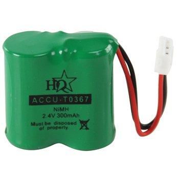 Oplaadbare NiMH Batterij Pack 2.4 V 300 mAh 1-Blister