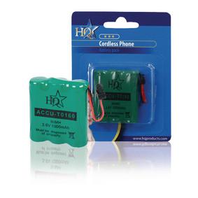 Oplaadbare NiMH Batterij Pack 3.6 V 1000 mAh 1-Blister
