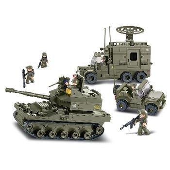 Bouwstenen Army Serie Gepantserde Elitedivisie