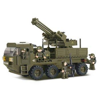 Bouwstenen Army Serie Voertuig voor Zwaar Transport