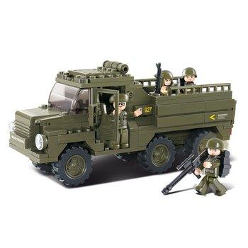 Bouwstenen Army Serie Vrachtwagen