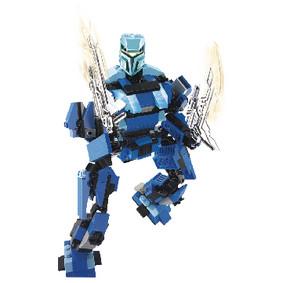 Bouwstenen Space Serie Ultimate Robot Poseidon