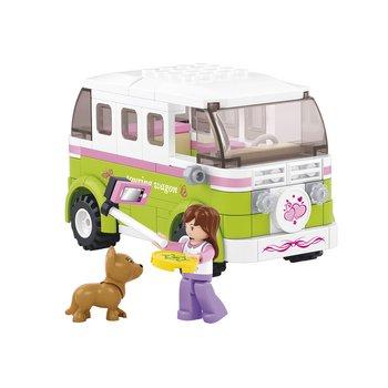 Bouwstenen Girls Dream Serie Camper