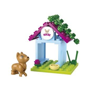 Bouwstenen Girls Dream Serie Hondenhok