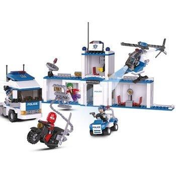 Bouwstenen Police Serie Vrachtwagen