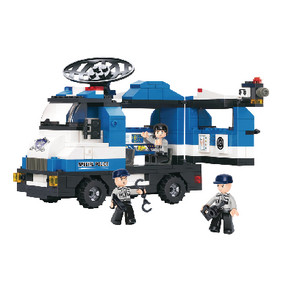 Bouwstenen Police Serie Mobiele Politiepost
