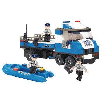 Bouwstenen Police Serie Politievrachtwagen