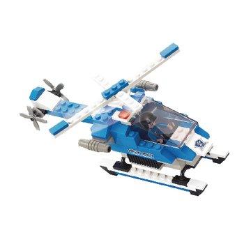 Bouwstenen Police Serie Politiehelikopter