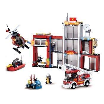 Bouwstenen Fire Serie Brandweerkazerne