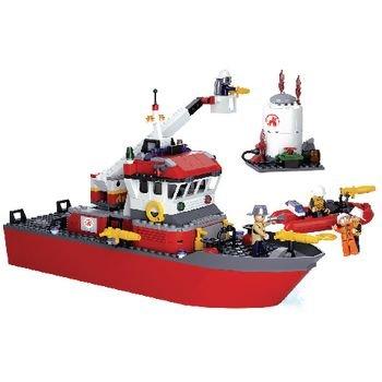 Bouwstenen Fire Serie Brandweerboot