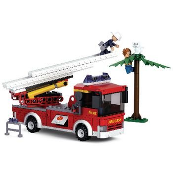 Bouwstenen Fire Serie Ladderwagen