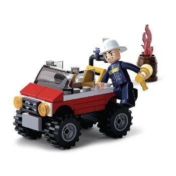 Bouwstenen Fire Serie Brandweer Jeep