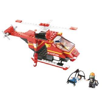 Bouwstenen Fire Serie Reddingshelikopter