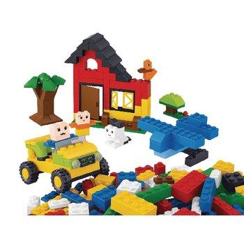 Bouwstenen Kiddy Bricks Serie Basisbouwsteentjes 415 st Meisjes