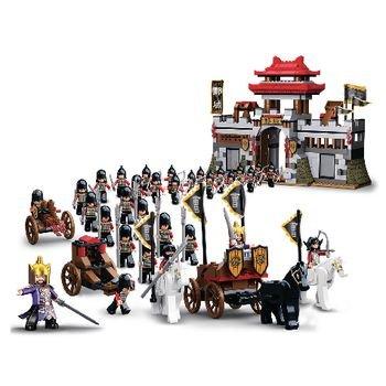 Bouwstenen 3 Kingdoms Serie Kasteel en Ridders