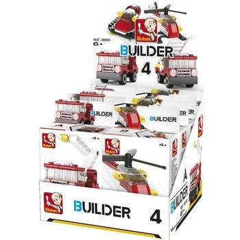 Bouwstenen Builder Fire