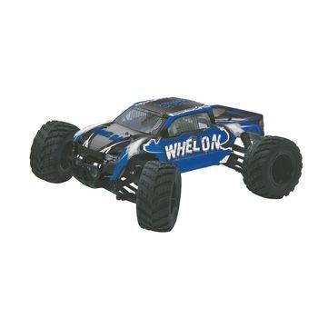 R/C 4WD Whelon RTR / 4WD / Met Kogellager / Waterbestendig 2.4 GHz Control 1:12 Blauw