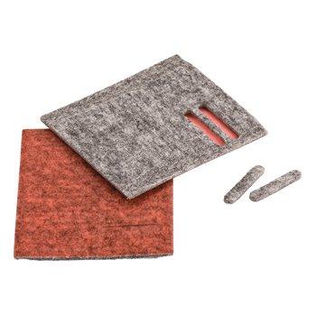 Glijstrips voor Combi Tool Grijs/Rood