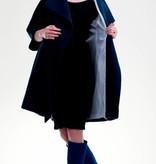 Umstandsmantel dunkelblau weitenregulierbar von mamaija