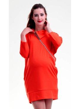 mamaija - moderne, sinnliche und funktionale Umstandsmode Umstandspullover - Stillpullover rot