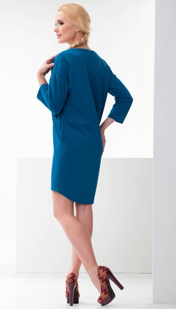 mamaija - festliche Umstandsmode Business blaues Umstandskleid - Stillkleid von mamaija