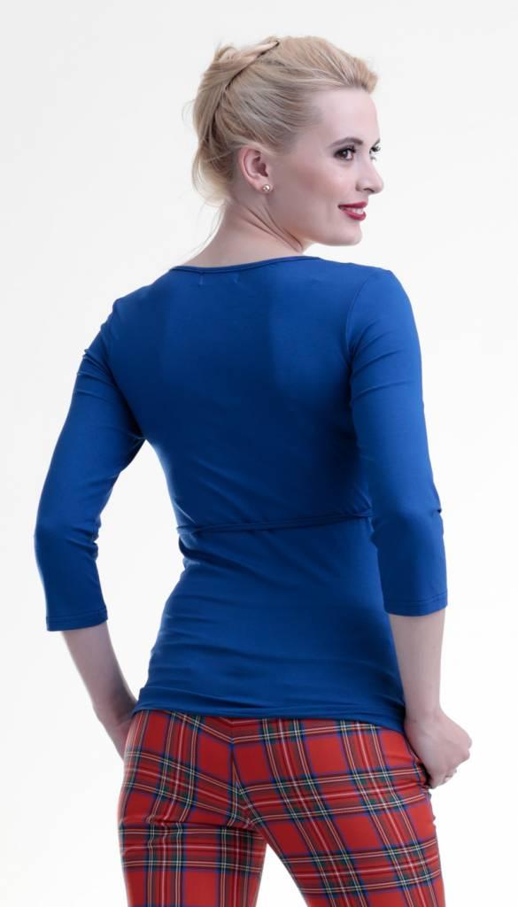 mamaija  Umstandsshirt - Stillshirt royalblau von mamaija