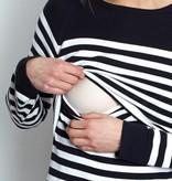 Milker - dänische Umstandsmode und Stillmode Umstandspulli - Stillpulli - BIO von Milker Nursing