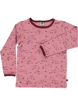 rosa Langarmshirt Seelöwe