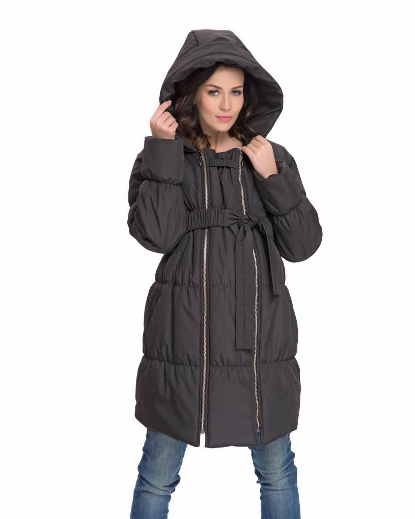 9fashion gefütterte Umstandsjacke Tragejacke Winterjacke 3in1 von 9fashion